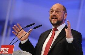 Europos Parlamento pirmininkas Martinas Schulzas lietuviams: jūs esate laisvės herojai Europoje
