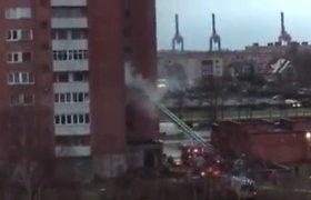 Daugiabučio balkone Klaipėdoje kilo gaisras