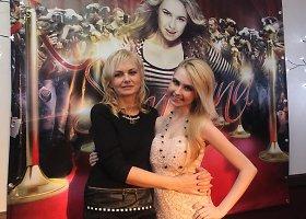 Simona Milinytė su mama Marija