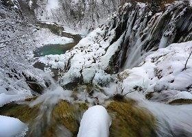 Įspūdingais kriokliais ir ežerais kerintis Plitvicų nacionalinis parkas Kroatijoje