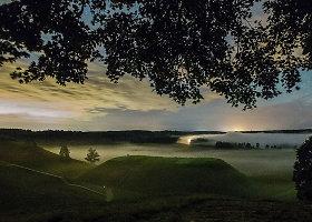 Penktadienio nakties meteorų lietus Kernavėje