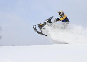 Ekspedicija sniego motociklais į Uralą