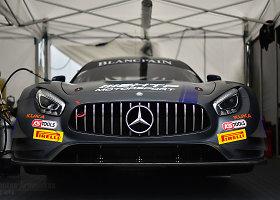 """Prestižinės """"Blancpain GT Sprint"""" lenktynės legendinėje Brands Hatch trasoje, Didžiojoje Britanijoje"""