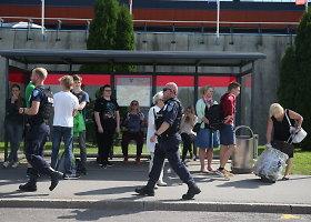 Policija tiria grasinimą susprogdinti iš Talino į Vokietiją skrisiantį lėktuvą