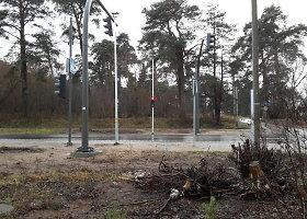 Rekonstruoto Kauno Raudondvario plento brokas