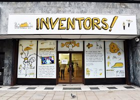 Menininkai Didžiojoje Britanijoje įgyvendino vaikų pasiūlytus išradimus