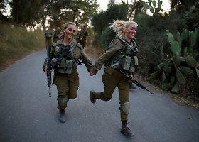 Merginos Izraelio kariuomenėje
