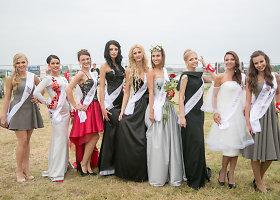 "Konkurso ""Miss racing"" finalas Palangoje"