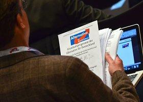 Vokietijos dešiniojo sparno AfD priėmė antiislamišką manifestą