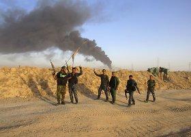 Irako kariuomenės pajėgos prie Faludžos