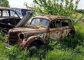 Dzūkijoje rastos įspūdingos senovinių automobilių kapinės