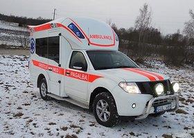"""Greitosios pagalbos automobilis """"Nissan Navara"""" (paruoštas CTS)"""