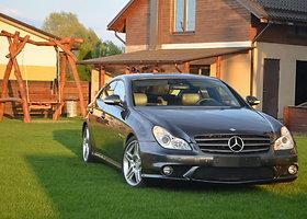 """Išskirtinė """"Mercedes-Benz CLS55 AMG"""" versija"""