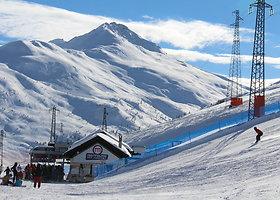 Mindaugo slidinėjimas Livinjo Italijoje