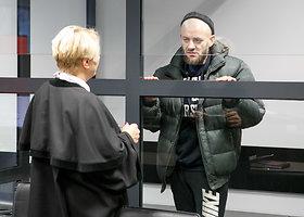 Antstolei grasinęs žmogžudys Kauno teisme