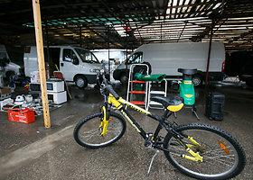 Parduodami dviračiai Aleksoto turguje