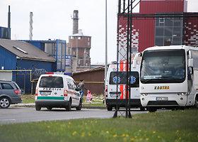 Kaune automobilyje mirė vairuotojas