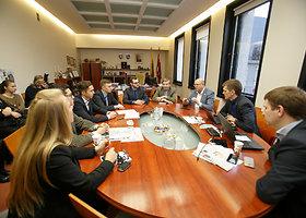 Kauno miesto valdžia savo kėdes vienai dienai užleido studentams