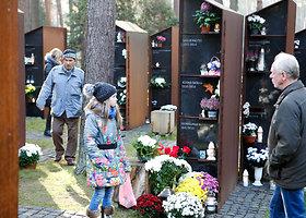 Kauno kolumbariumas visų šventųjų dieną