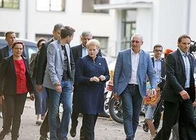 """Dalia Grybauskaitė apsilankė """"Laisvės piknike"""""""