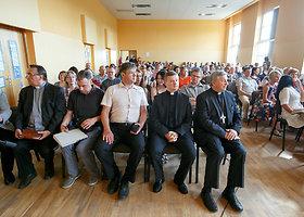 Šv. Mato gimnazijoje įvyko bendruomenės susirinkimas