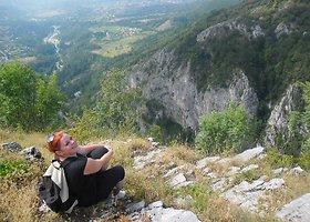 Tyrinėti Balkanų lietuvė ryžosi vos su 20 eurų kišenėje