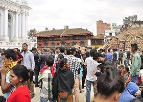 Keliautojų nuotraukose – 2015 m. balandžio mėnesį įvykęs žemės drebėjimas Nepale