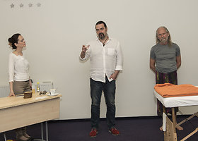 Kaune viešėjo emocijų paleidimo masažo metodikos kūrėjas Vishwas