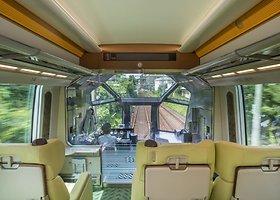 """""""Shimakaze"""" – svajonių kelionė japonišku traukiniu"""