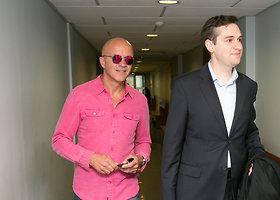 Bankrutavęs aktorius Ramūnas Rudokas turi nebaigtų reikalų teisme