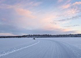 """""""Continental TechnikForum"""" padangų bandymai Suomijos šiaurėje"""