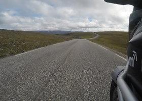 Kelionė Nordkapas-Tarifa: akimirkos Norvegijoje