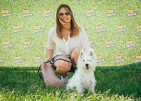 Šunų dresavimo pamoka Vilniuje
