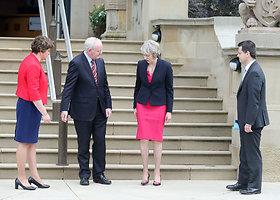 Didžiosios Britanijos premjerė Theresa May – stipri ir stilinga