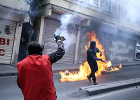 Turkijos policija Stambule vaikė Gegužės 1-osios protestus