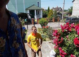 Juozapo darbas Ukrainos vaikų stovykloje anglų kalba