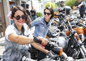 """Naujų """"Harley-Davidson"""" motociklų bandomasis važiavimas"""