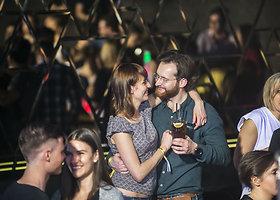 """Vlada Musvydaitė ir Paulius Samoška """"Radistų"""" vakarėlyje"""