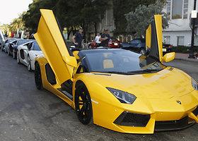 "Kobe Bryanto automobilis – ""Lamborghini Aventador"""