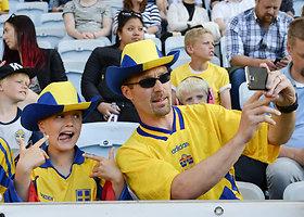 Draugiškos rungtynės: Švedija – Slovėnija