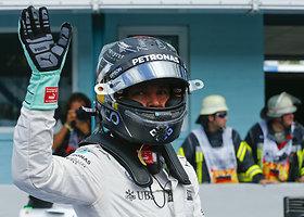 Nico Rosbergas buvo greičiausias Vokietijos GP kvalifikacijoje