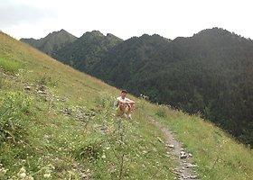 Aurimo Bružo atostogų Kaukazo kalnuose akimirkos