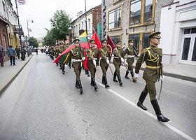 Lietuvos karybos dienos Telšiuose pristatymas ir Durbės mūšio paminklo atidengimas