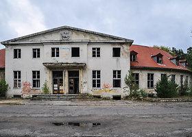 Nacių karininkų namai ir gelžbetoninė Hitlerio ložė. Lenkija