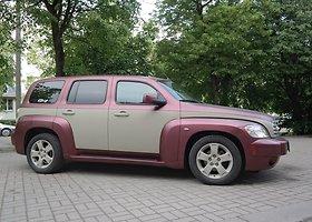 Alternatyvus automobilio spalvos keitimas. Gumos pagrindo dažai
