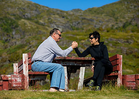 Algirdas Kaušpėdas su žmona Vilija Norvegijoje