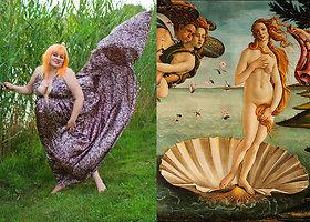 Skandalingai fotosesijai Daina Bilevičiūtė įkvėpimo sėmėsi iš klasikų paveikslų