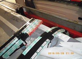 Pareigūnai aptiko kontrabandinių cigarečių slėptuvę krovininio automobilio puspriekabėje