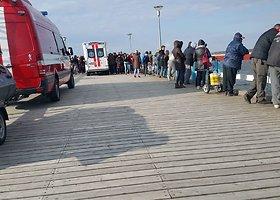 Palangoje nuo tilto šokusį jaunuolį gelbėjo specialiosios tarnybos
