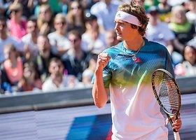 """BMW Open"" pusfinalis: Alexanderis Zverevas – Dominicas Thiemas"